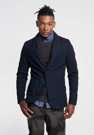 PAKKE STRAIGHT FIT - blazer - mazarine blue