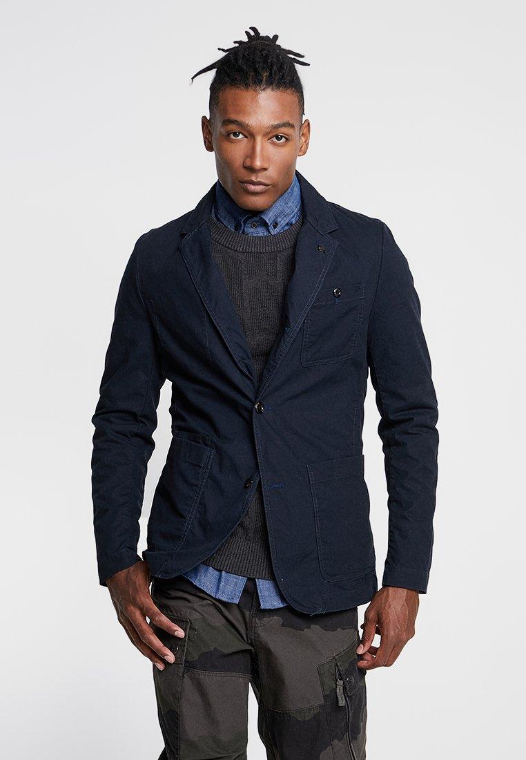 G-Star - PAKKE STRAIGHT FIT - blazer - mazarine blue