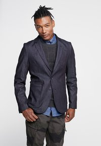 G-Star - VARVE STRAIGHT FIT - blazer - raw denim - 0
