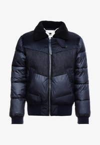 G-Star - ORE DENIM MIX BOMBER - Vinterjacka - mazarine blue - 4