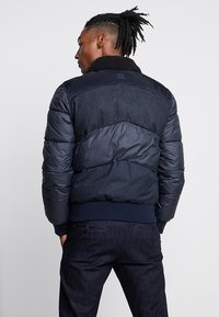 G-Star - ORE DENIM MIX BOMBER - Vinterjacka - mazarine blue - 2