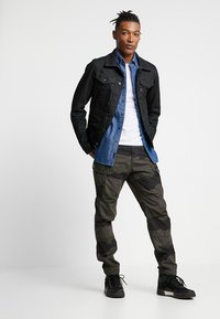 G-Star - D-STAQ SLIM - Jeansjacka - dark-blue denim - 1