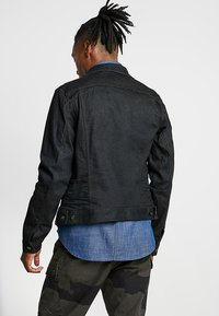 G-Star - D-STAQ SLIM - Jeansjacka - dark-blue denim - 2