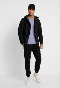 G-Star - BATT ZIP STRAIGHT - Summer jacket - black - 1