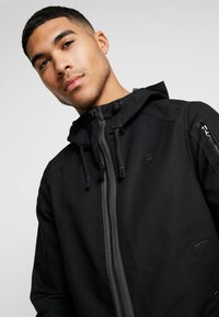G-Star - BATT ZIP STRAIGHT - Summer jacket - black - 5
