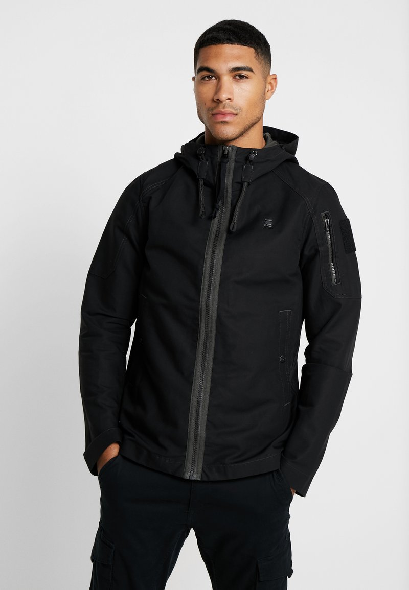 G-Star - BATT ZIP STRAIGHT - Summer jacket - black
