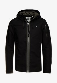 G-Star - BATT ZIP STRAIGHT - Summer jacket - black - 4