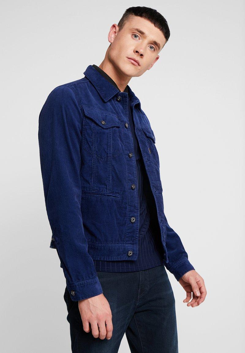 G-Star - D-STAQ SLIM - Veste en jean - imperial blue