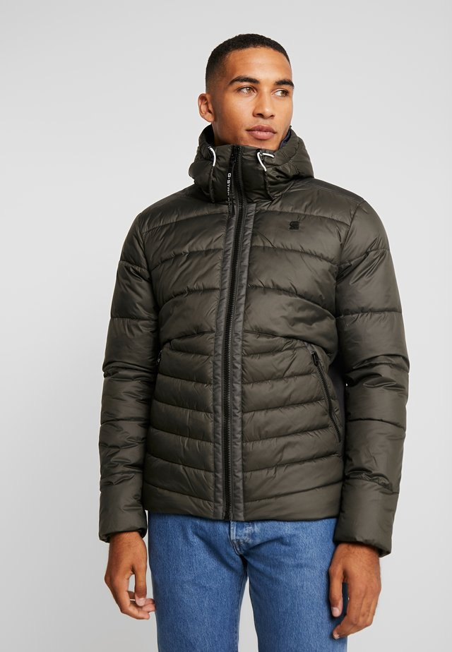 MOTAC QUILTED HOODED - Chaqueta de entretiempo - asfalt