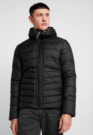 MOTAC QUILTED HOODED - Light jacket - black