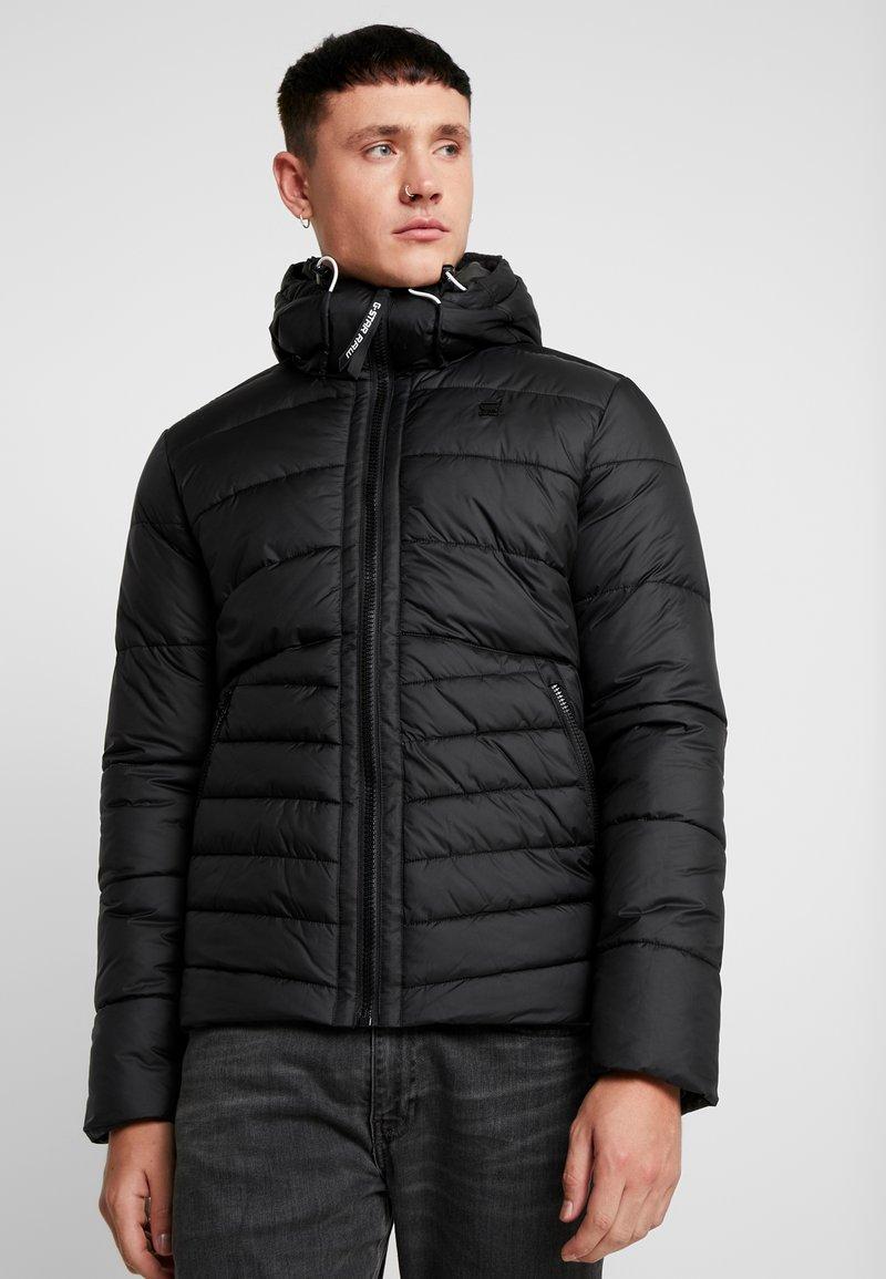 G-Star - MOTAC QUILTED HOODED - Light jacket - black