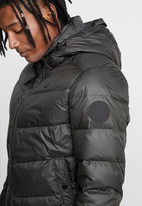G-Star - WHISTLER PUFFER - Gewatteerde jas - asfalt - 6