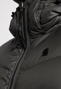 G-Star - WHISTLER PUFFER - Gewatteerde jas - asfalt - 4