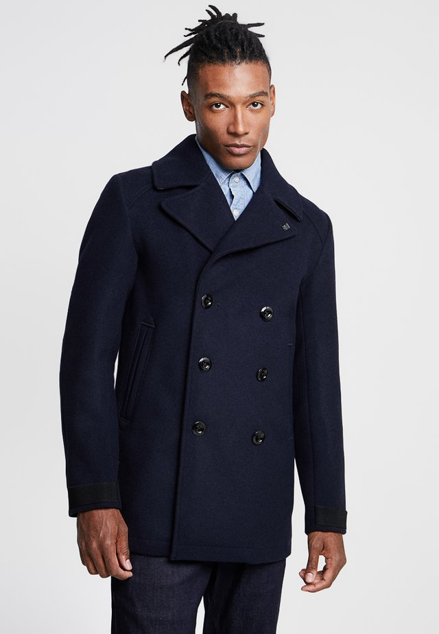 TRACTION PEACOAT - Mantel - mazarine blue