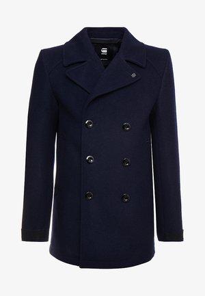 TRACTION PEACOAT - Płaszcz wełniany /Płaszcz klasyczny - mazarine blue
