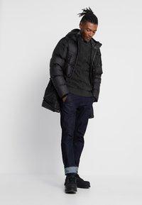 G-Star - WHISTLER DOWN PARKA - Gewatteerde jas - dark black - 1
