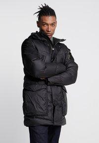 G-Star - WHISTLER DOWN PARKA - Gewatteerde jas - dark black - 0