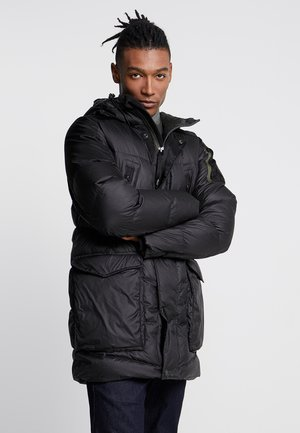 WHISTLER DOWN PARKA - Chaqueta de plumas - dark black