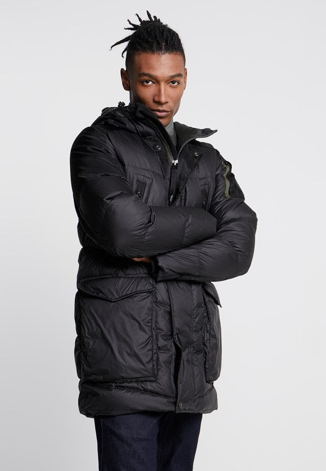WHISTLER DOWN PARKA - Gewatteerde jas - dark black