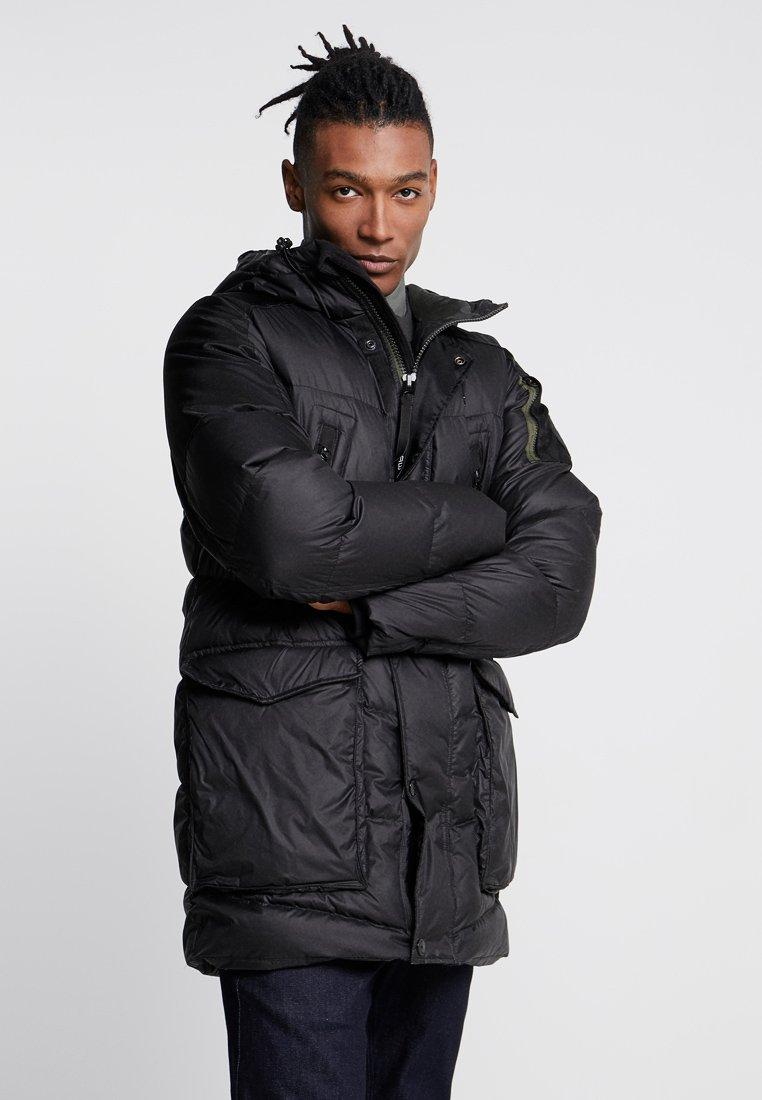 G-Star - WHISTLER DOWN PARKA - Gewatteerde jas - dark black