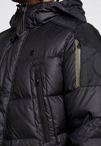 G-Star - WHISTLER DOWN PARKA - Gewatteerde jas - dark black - 5