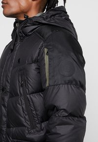 G-Star - WHISTLER DOWN PARKA - Gewatteerde jas - dark black - 3