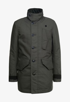 SCUTAR UTILITY PADDED TRENCH - Parkas - asfalt