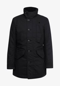 G-Star - SCUTAR UTILITY PADDED TRENCH - Parkas - black - 5
