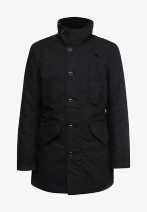 SCUTAR UTILITY PADDED TRENCH - Parkas - black