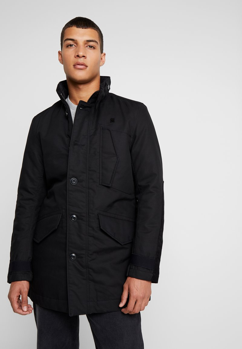 G-Star - SCUTAR UTILITY PADDED TRENCH - Parkas - black
