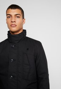G-Star - SCUTAR UTILITY PADDED TRENCH - Parkas - black - 6