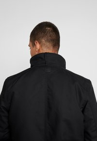 G-Star - SCUTAR UTILITY PADDED TRENCH - Parkas - black - 4