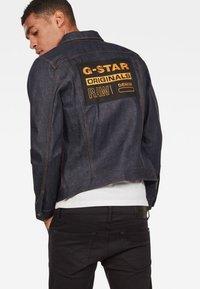 G-Star - ORIGINALS 3301 SLIM - Spijkerjas - dark blue - 1
