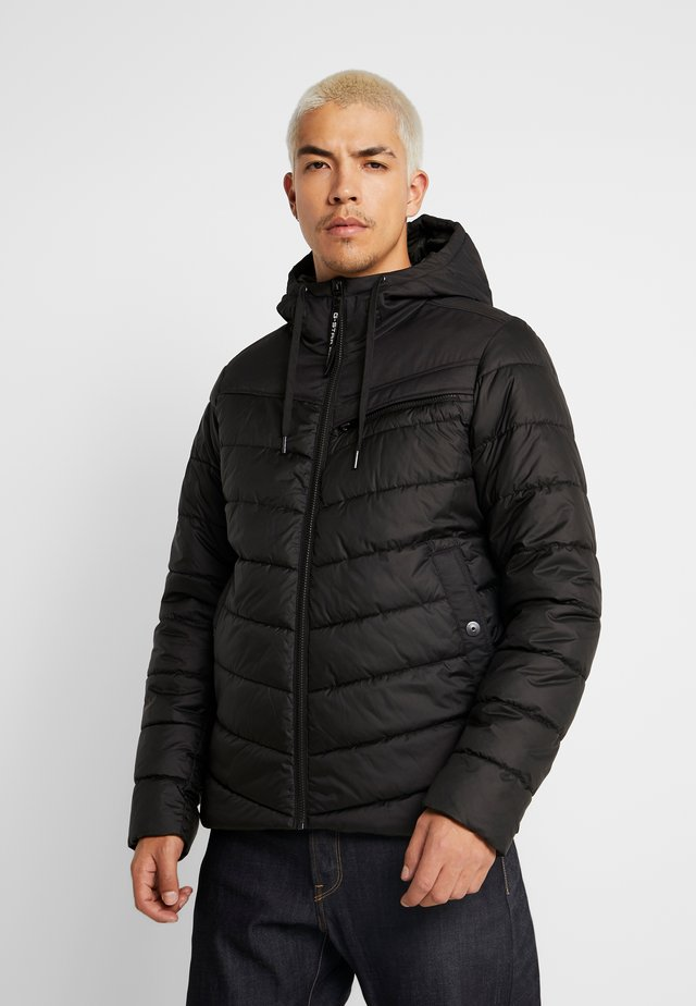 ATTACC QUILTED JACKET - Übergangsjacke - black