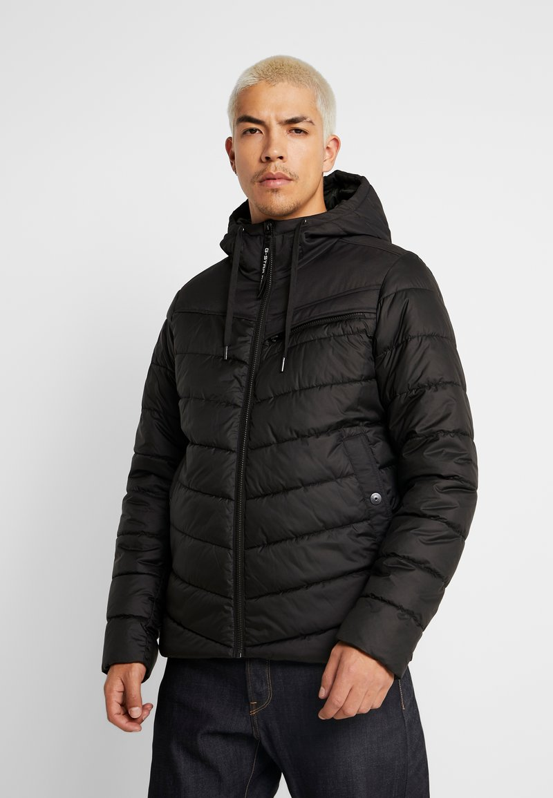 G-Star - ATTACC QUILTED JACKET - Chaqueta de entretiempo - black