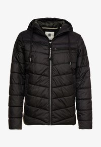 G-Star - ATTACC QUILTED JACKET - Chaqueta de entretiempo - black - 4