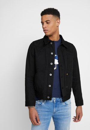 5650 JACKET - Denim jacket - black denim pitch