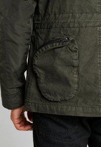 G-Star - OSPAK FIELD  - Summer jacket - asfalt - 5