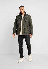 G-Star - OSPAK FIELD  - Summer jacket - asfalt - 1