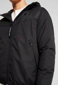G-Star - SETSCALE HDD JKT - Jas - dark black - 5