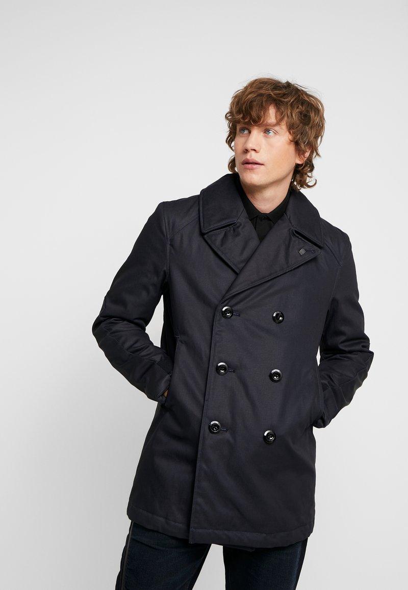 G-Star - PEACOAT - Pitkä takki - dark blue denim