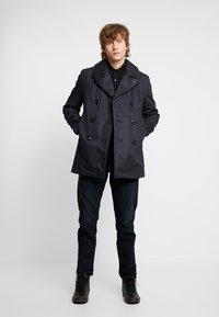 G-Star - PEACOAT - Pitkä takki - dark blue denim - 1