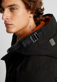 G-Star - SHORT - Zimní kabát - dark black - 3