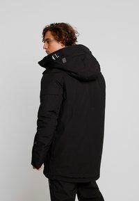 G-Star - SHORT - Zimní kabát - dark black - 2