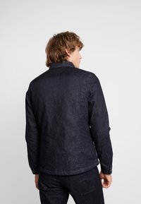 G-Star - 3301 LINING OVERSHIRT - Jeansjakke - dark blue denim - 2