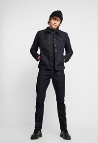 G-Star - 3301 LINING OVERSHIRT - Jeansjakke - dark blue denim - 1