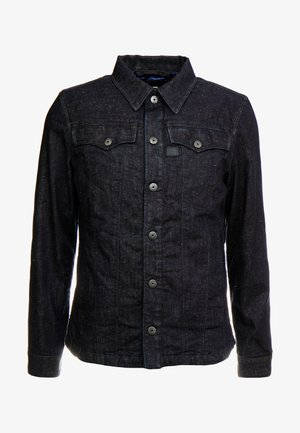 3301 LINING OVERSHIRT - Kurtka jeansowa - dark blue denim