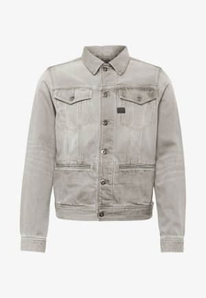 D-STAQ SLIM EARTHTRACE - Giacca di jeans - faded army