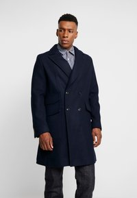 G-Star - DOUBLE BREASTED PALETOT - Classic coat - mazarine blue - 0
