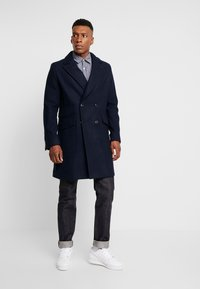 G-Star - DOUBLE BREASTED PALETOT - Classic coat - mazarine blue - 1